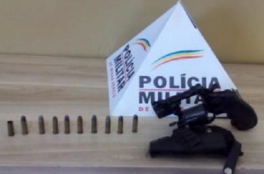 Acusado de porte ilegal de arma de fogo preso em Araxá