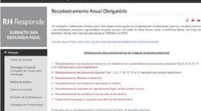 Inativos e pensionistas devem regularizar situação no Portal do Servidor