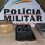 PM prende acusados de tráfico e aprende drogas nas cidades de Araxá, Sacramento e Perdizes