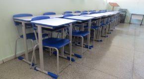 Novo mobiliário é adquirido para escolas de Tapira