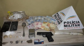 Acusado de tráfico é preso no Setor Norte de Araxá