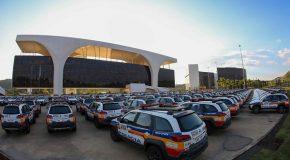 Governo de MG entrega 625 novas viaturas para a Polícia Militar de 494 municípios