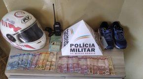 Em ação rápida, PM de Araxá prende acusado de roubo no Setor Oeste
