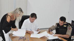 Assinado convênio com a PM para terminar a Transitolândia