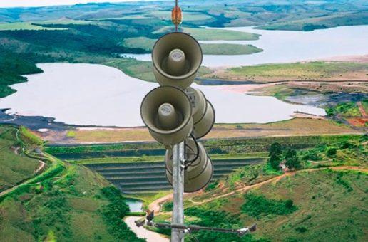 Mosaic Fertilizantes faz simulado de emergência e testes de sirene em Tapira
