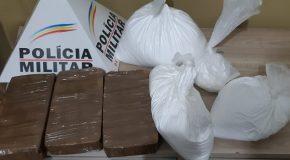Operação apreende droga, avaliada em R$ 200 mil, no Terminal Rodoviário de Araxá