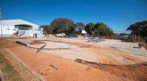 Obras da Praça Da Juventude, em Araxá, estão com 85% do serviço concluído