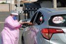 Barreira sanitária para prevenção do coronavírus é realizada em Araxá