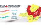 Mais de 360 cidades mineiras de pequeno porte passarão automaticamente para a onda amarela do plano Minas Consciente