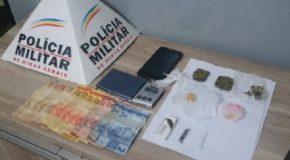 Jovens são presas por tráfico de drogas no Setor Sul de Araxá