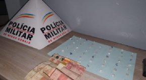 Acusado de tráfico é preso no Bairro Bom Jesus, no Setor Norte de Araxá