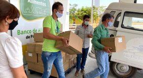 Banco de Alimentos e Mesa Brasil SESC doam 5 mil quilos de legumes em Patos de Minas
