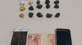 Acusado preso com porção de crack que renderia 300 unidades da droga