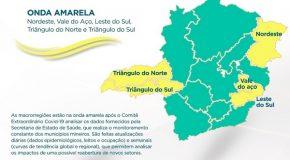 Triângulo Mineiro/Alto Paranaíba regridem para a onda amarela do plano