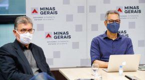 Romeu Zema se reúne com ministro da Saúde para discutir vacina contra a covid-19