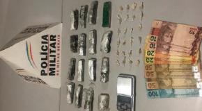Dois jovens e um menor detidos em Perdizes acusados de tráfico de entorpecentes