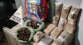 Ações da PM em Araxá e Sacramento apreendem porções de drogas