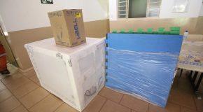 Escolas e Creches municipais de Araxá ganham novos eletrodomésticos