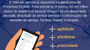 Nota fiscal para pessoa física já pode ser emitida na plataforma digital em Patos de Minas