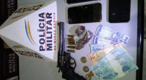Acusados de roubo em Santa Juliana são presos pela Polícia Militar