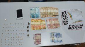 Preso acusado de tráfico no Dona Maroca, em Ibiá