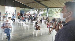 Regularização de áreas para moradia em Itaipu são debatidas em reunião com Prefeito Robson Magela