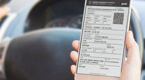 Web-rádio: Novos documentos digitais de veículos já estão disponíveis