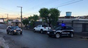 Polícia Civil de Campos Altos prende acusado de matar a facadas jovem de 18 anos