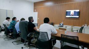 Araxá busca recurso para implantação da UTI Neonatal em videoconferência com o Governo de Minas
