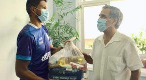 Dínamo realiza doações de cestas básicas a instituições assistenciais de Araxá