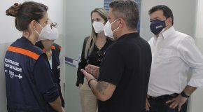 Araxá recebe comitiva da Secretaria de Estado de Saúde e cobra mais ajuda no combate à pandemia
