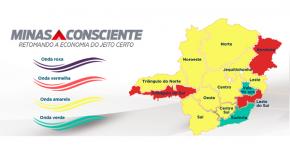 Minas registra queda de 11% na incidência da Covid-19 e menor pressão por leitos de UTI em todas as regiões