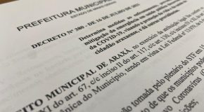Comércio de Araxá tem ampliação do horário de funcionamento em novo decreto