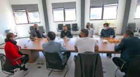 Governador de MG se reúne com Prefeito de Araxá e equipe no Centro Administrativo