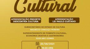 Teatro Municipal recebe bate-papo sobre novos projetos relacionados à cultura nesta quarta