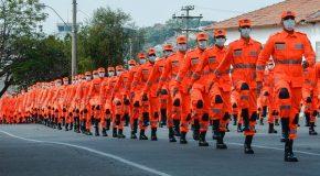 500 novos soldados do Corpo de Bombeiros Militar de Minas Gerais se formam