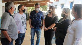 Começa a revitalização de Escola na Boca da Mata, na zona rural de Araxá
