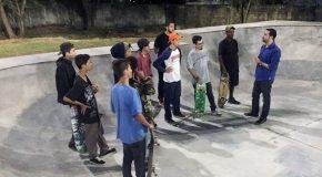 Reunião debate apoio a modalidade do skate em Araxá