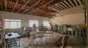 Obras de reforma da Escola do Itaipu seguem dentro do cronograma