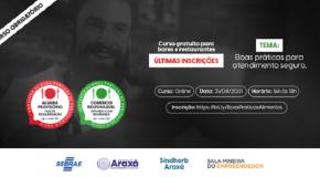Araxá terá selo para certificação de bares e restaurantes