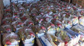 Campanha Vacinação Solidária arrecada mais de quatro toneladas de alimentos