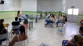 Servidoras da saúde em Araxá participam de curso de aperfeiçoamento de vacinação
