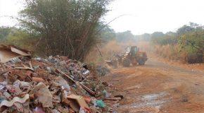 Mais de duas mil toneladas de entulho recolhidas em áreas de Araxá entre janeiro e setembro