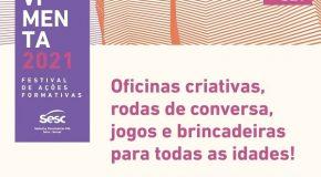 Sesc Movimenta oferece 48 atividades formativas gratuitas para todos os públicos em setembro