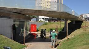 Rampa da fonte da Antônio Carlos passa por obras, mas não atrapalha espetáculos no Municipal