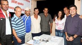 Artap recebe apoio da administração municipal de Tapira e do Deputado Bosco