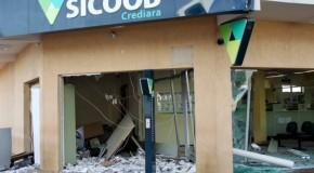 Explosão de caixas eletrônicos em Tapira assusta moradores