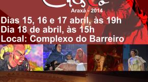 Grupo Fratelo começa hoje com apresentações da Paixão de Cristo 2014