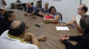 Vereadores se reúnem com entidades que participariam do Arraial de São Domingos