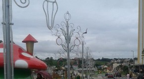 Iluminação natalina começa nesta quarta-feira, em Araxá